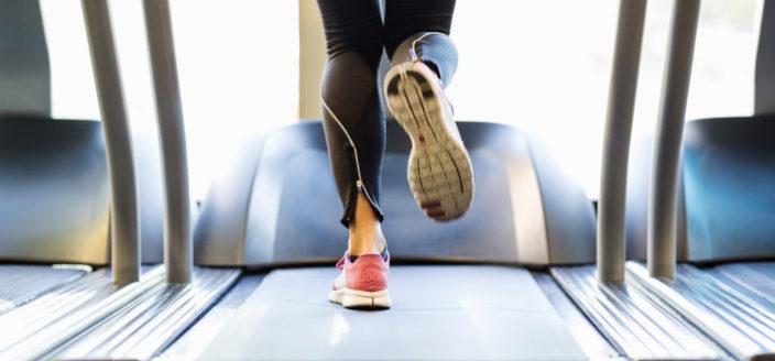 Exercice par intervalles sur un tapis de course